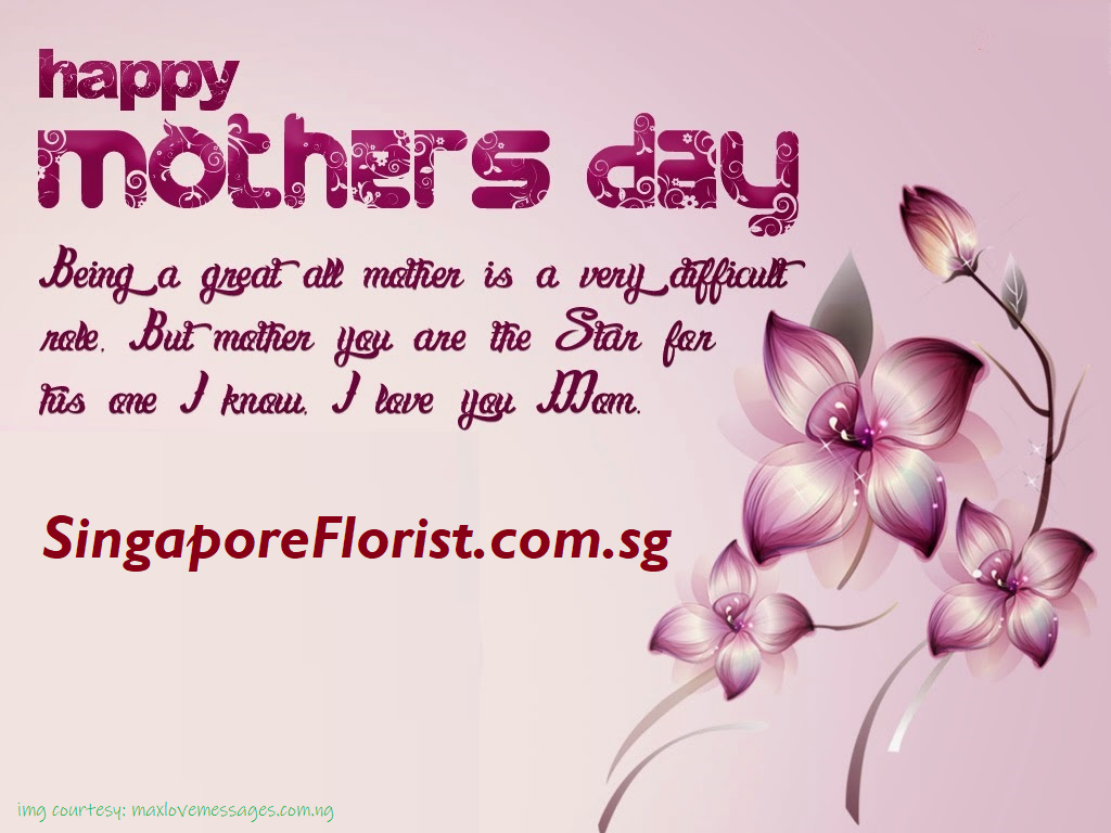 Mothers Day in Singapore