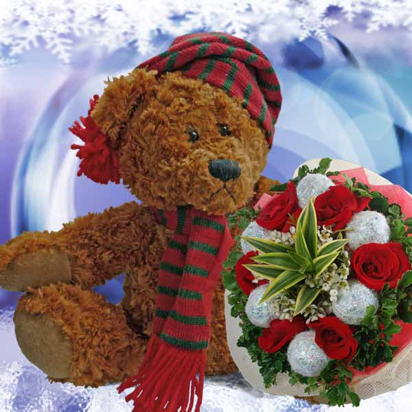 X'Mas Flowers Delivery