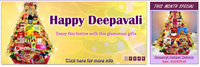 Deepavali Hampers in Singapore