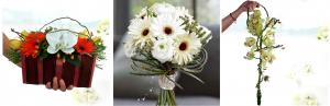 wedding bridal hand bouquets