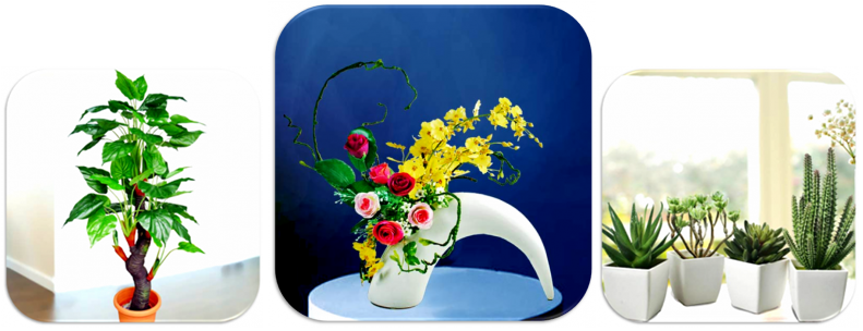 Artificial Table Flowers in Singapore