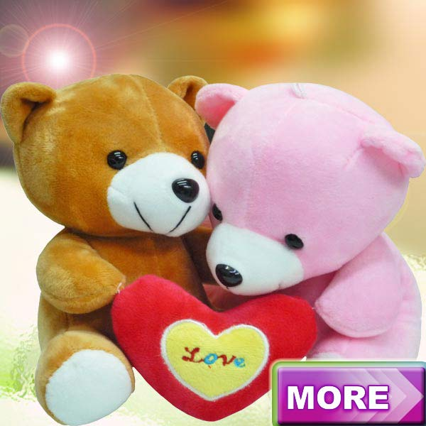 Add-On Couple Soft Toy