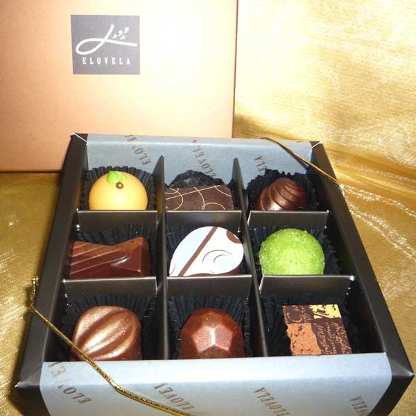 Gourmet (Fresh)Chocolate 9 pcs