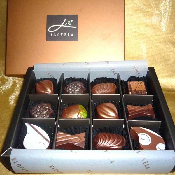 "Add-On ""Elovela"" Gourmet (Fresh)Chocolate 12 pcs"