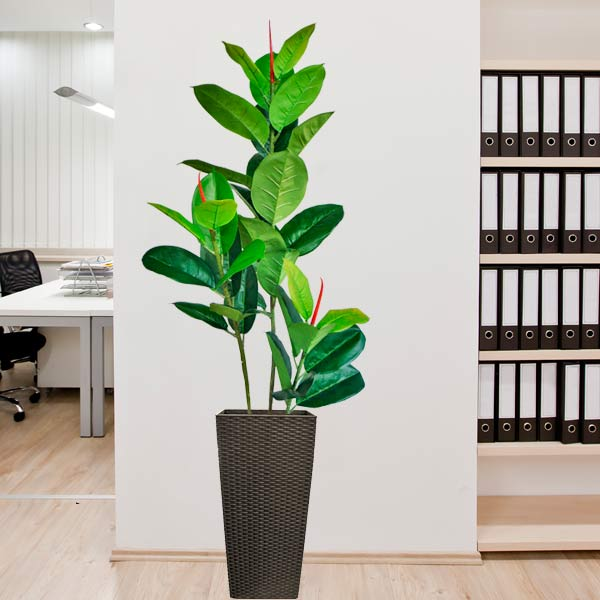 Artificial Ficus Lyrata Tree 1 Metre Height