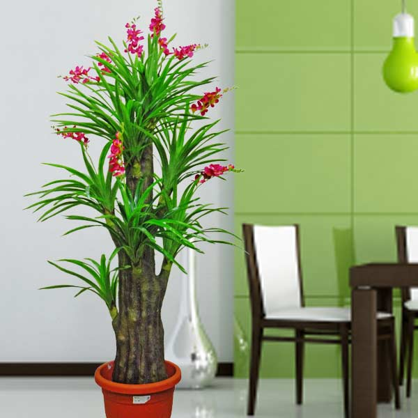 Artificial Flowering Plants 190cm Height