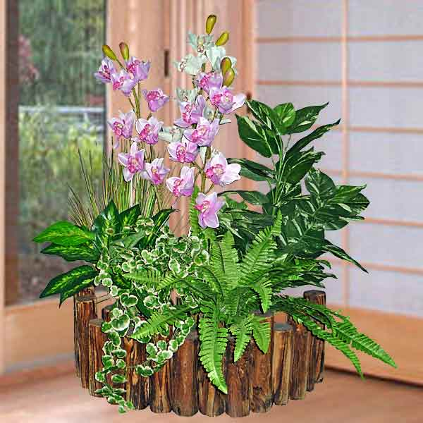 Small Artificial Plants Landscape
