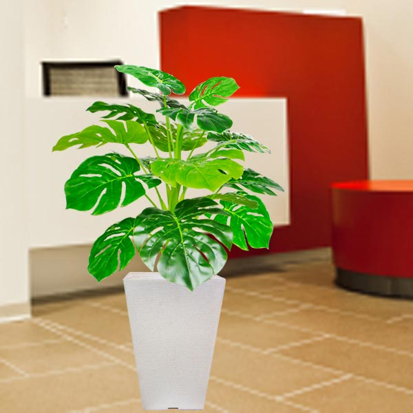 Artificial Monstera Plant 90cm Height