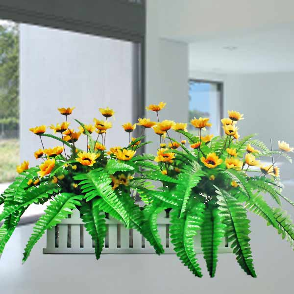 Artificial SunFlowers Arrangement 30cm Height