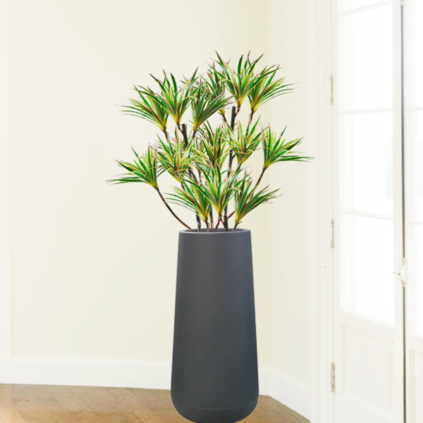 Artificial Dracaena Marginata Plants In Tall Planter 5 Feet Height