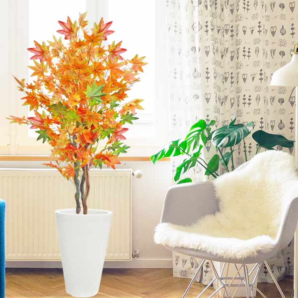 Artificial Autumn Maple tree 145cm Height