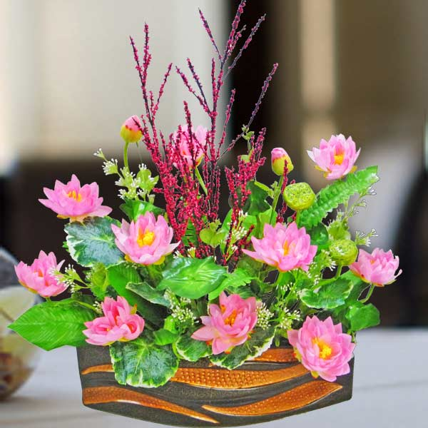 Silk Flower Arrangements Artificial Floral Arrangement