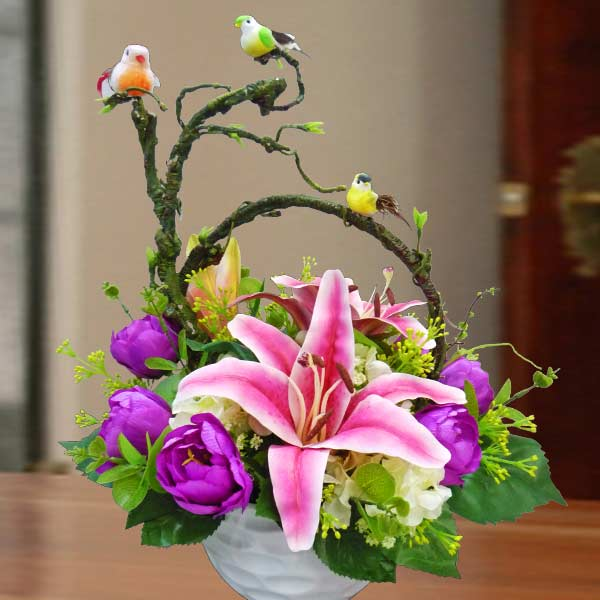 Artificial Flowers Table Arrangement delivery