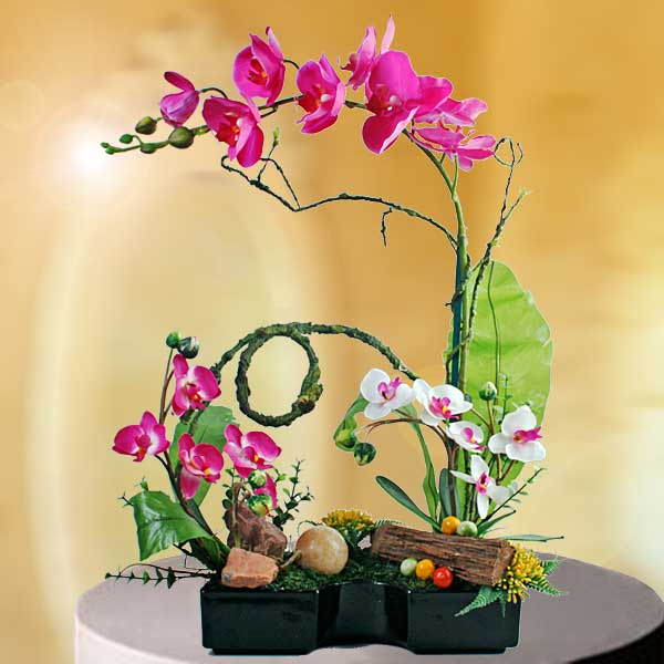 Artificial Table Flower Arrangements Singapore