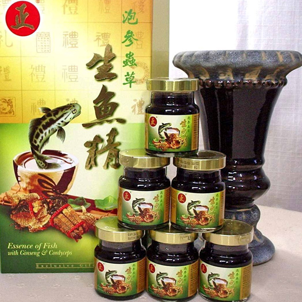Add-on Essence of Fish with Ginseng & Cordyceps