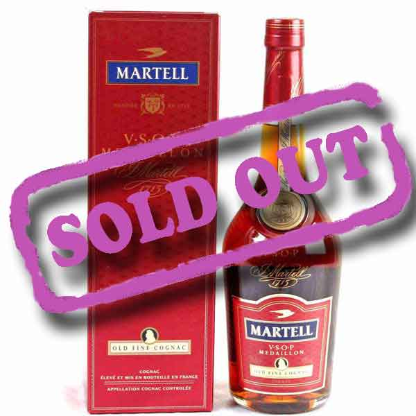 Add-on Martell VSOP Medaillon 35cl