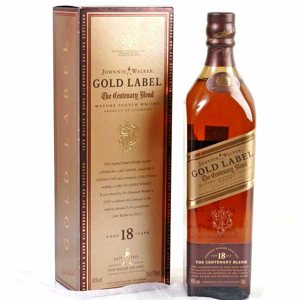 Johnnie Walker Gold Label (750ml)