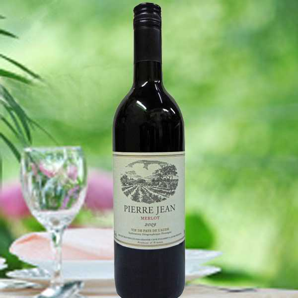 """Pierre Jean"" Red Wine Produce of France 750ml"