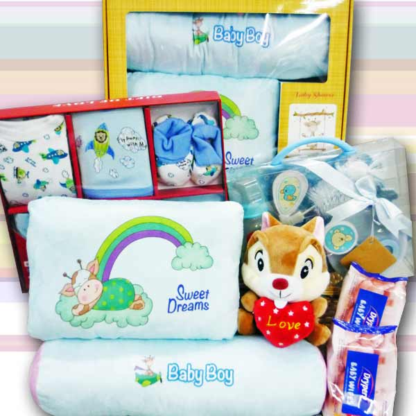 Baby Boy Gift Hamper BB008