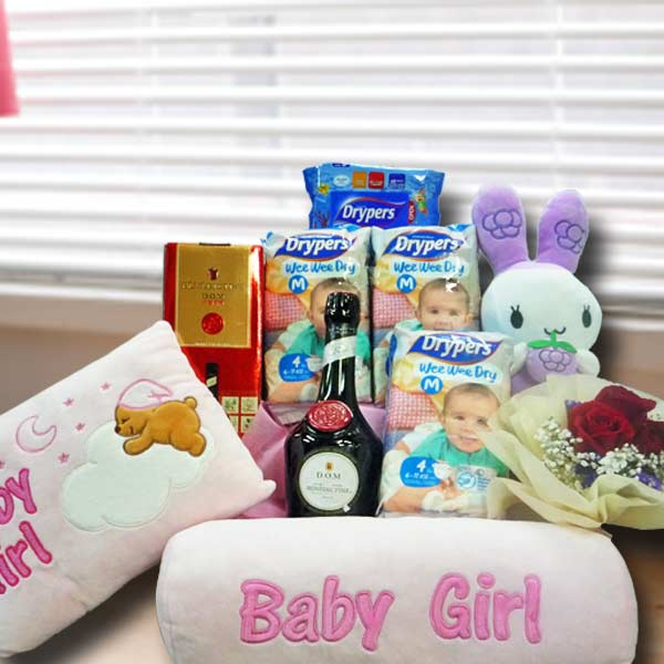 Baby Girl DOM Hamper