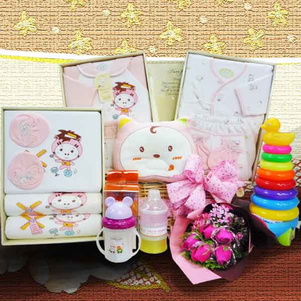 Baby Girl Gift set BB052