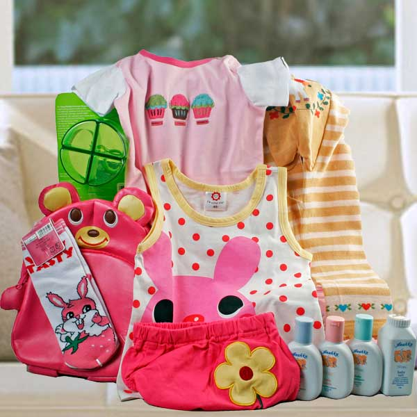Baby Girl Gift-Set BB061 With Bag