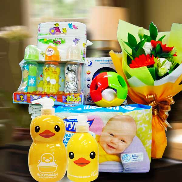 Baby Gift Basket, Hampers Delivery in Singapore By Local Florist