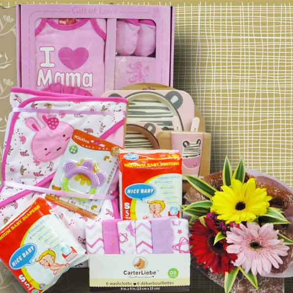 Baby Girl Gift Hamper Delivery In Singapore