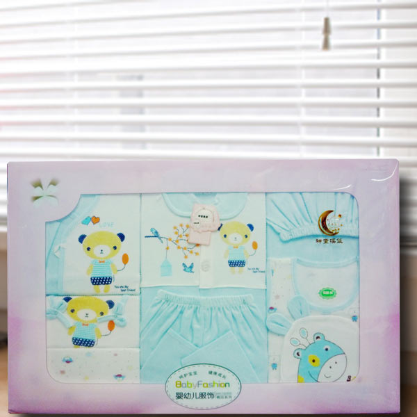 Baby Boy Hamper Gift Set ( 8 items )
