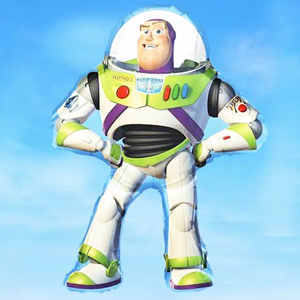 "Add-On Buzz Full Body Super-Shape Helium Balloon 24"" x 35"""