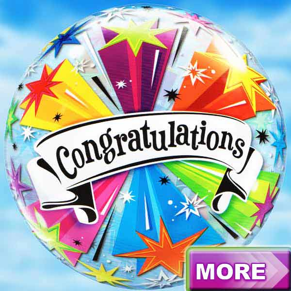 Add Congrats Balloon