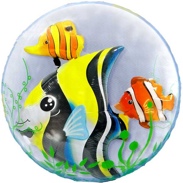Add-On 3D Special Balloon - Marine Fish