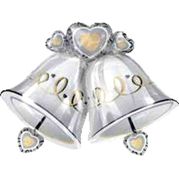 "Add-On 35""x26""( Wedding Bells ) Floating Balloon-3 Days Advance Order"