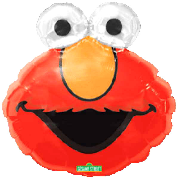 "Add-On 22""x29"" Helium Filled (Elmo Eyecatchers) Mylar Floating Balloon"