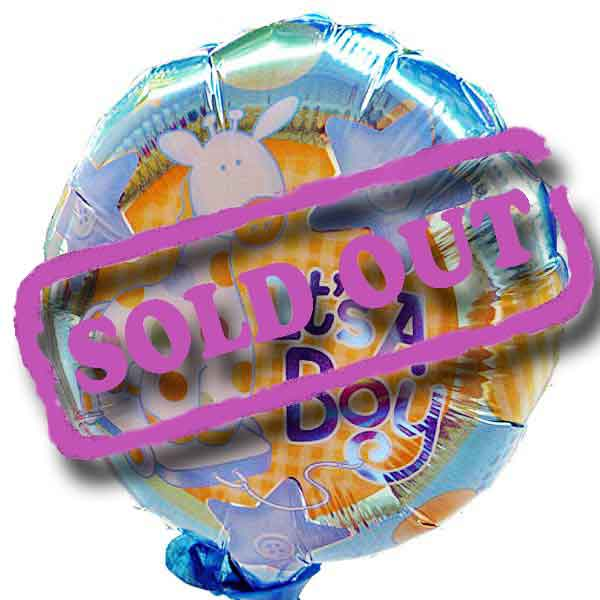 "Add-On It is A Boy 9"" Balloon"