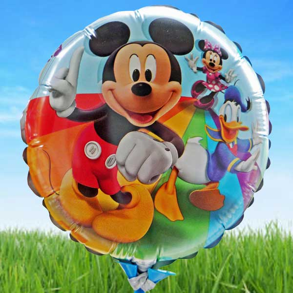 Add-on Micky Party 9 inches foil balloon