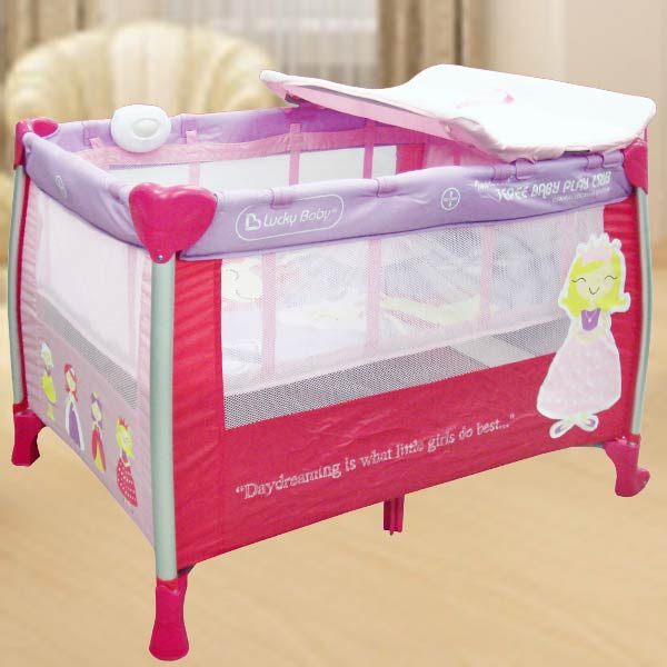 Baby Playpen - Pink Color
