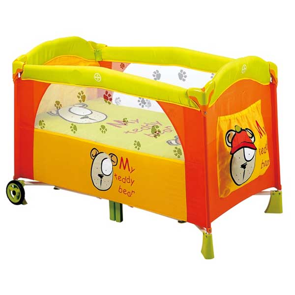 Baby Playpen Delivery - Orange Bear