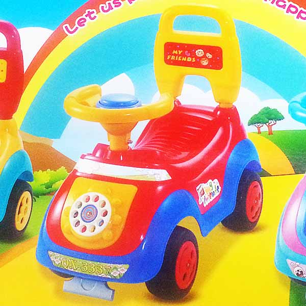 Baby Ride-On-Car ( Red Color ) Gifts Delivery