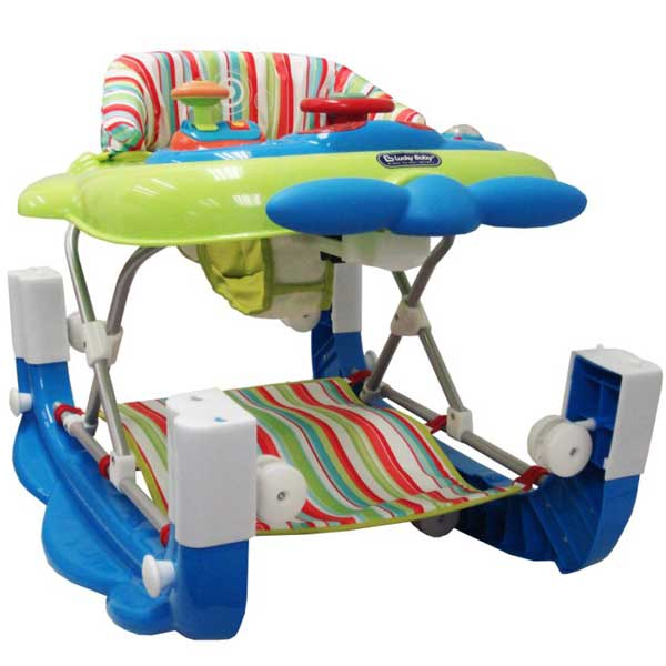 Lucky Baby JUMBO™ 2 in 1 WALKER CUM ROCKER ( Need 1 Day Advance )