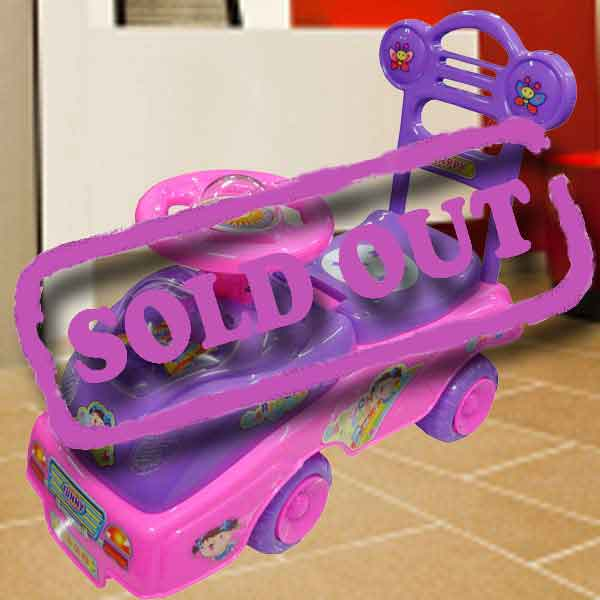 Baby Ride-On-Car ( Pink )