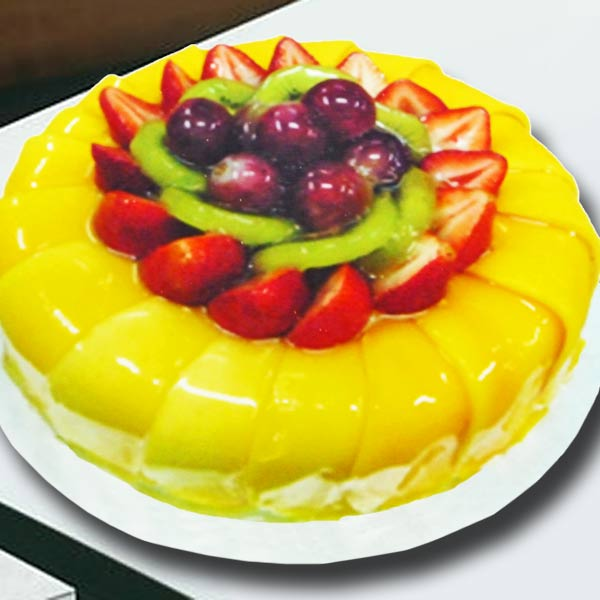 1 KG Mango Cake (Need 2 Days Advance order)