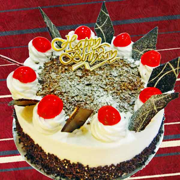Add On 1 Kg Black Forest Cake