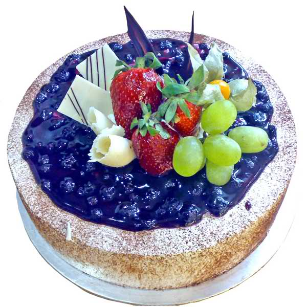 Blueberry Fruite Cake 1 Kg