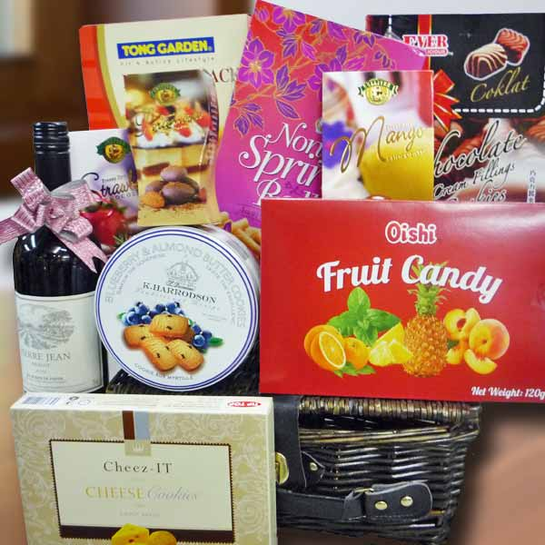 Singapore Red Wine Gift Hamper Delivery