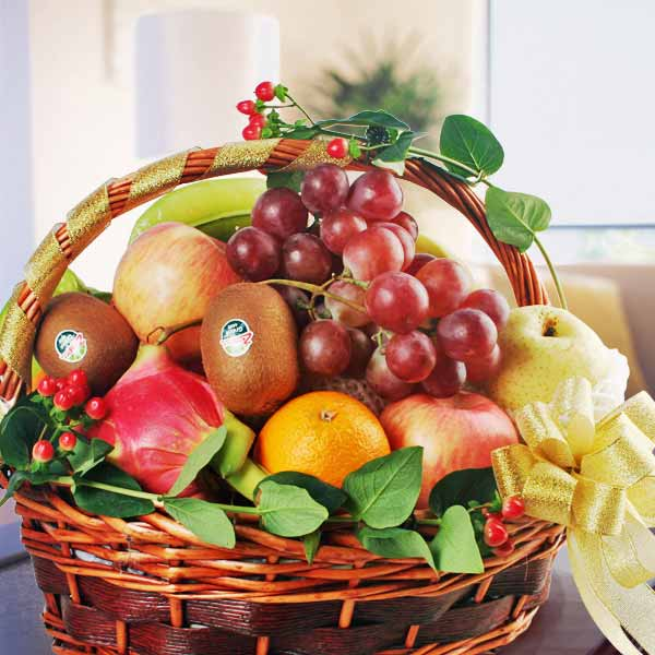Fruits Basket Delivery Singapore Flowers And Fruit