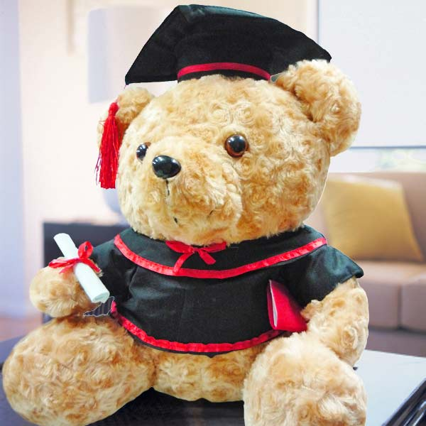 "Add-On 13"" Graduation Bear"