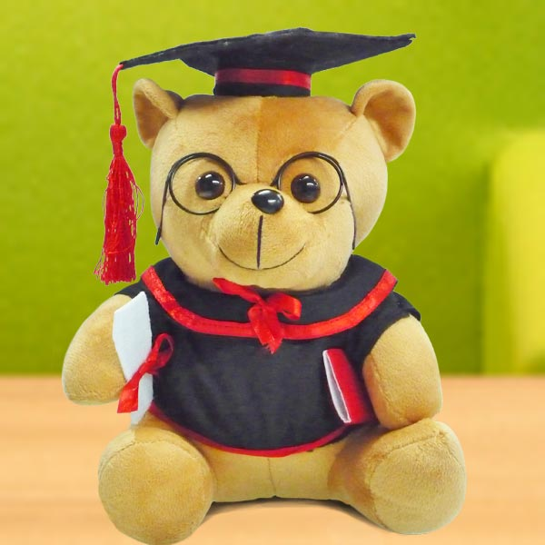 "Add-on 8"" Graduation Pro Bear"