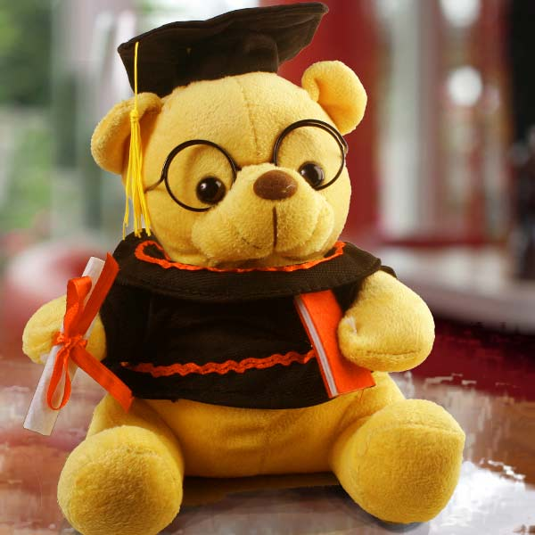 "Add-on 12"" Graduation Pro Bear"