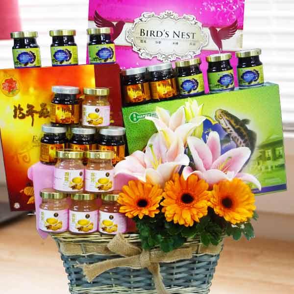 Flower Basket Delivery Singapore : Fruits basket delivery singapore flowers and fruit